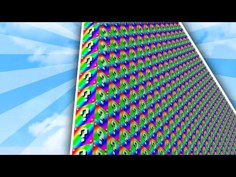 THEY CAN'T KILL ME!!   1v3 RAINBOW LUCKY BLOCK WALLS! - Minecraft Mods (видео)