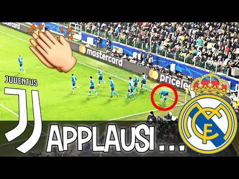 JUVENTUS 0-3 REAL MADRID | REACTION Allianz STADIUM Al GOL Di RONALDO In ROVESCIATA LIVE HD!!