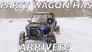 9. 2019 RZR Turbo S 4 Seater Joins The Dirt Army!