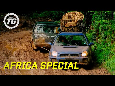 Speed and Power!   Top Gear Africa Special   BBC