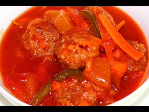 How to Cook Sweet & Sour Meatballs Recipe – English
