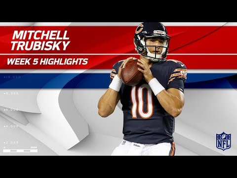 Video: Every Mitchell Trubisky Play from 1st Career Start! | Vikings vs. Bears | Wk 5 Player Highlights