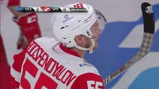 Spartak 1 SKA 4, 16 January 2018 Highlights