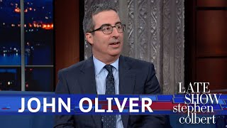Video John Oliver Got To Meet Beyoncé... Kind Of MP3, 3GP, MP4, WEBM, AVI, FLV Juli 2019