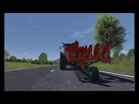 Kverneland plow v1.4