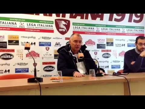 salernitana - benevento, conferenza stampa pre partita di menichini