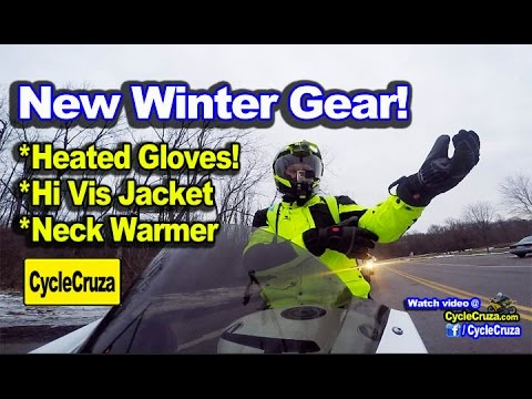 Rode CBR1000rr in Snow! New Winter Motorcycle Gear | MotoVlog