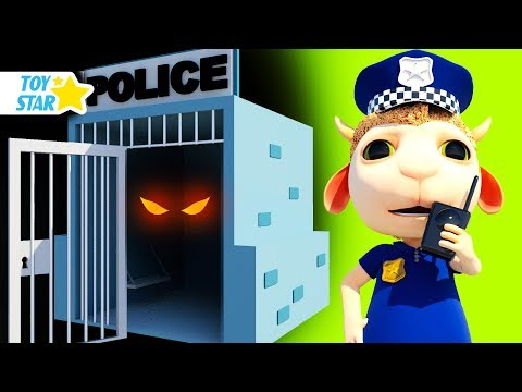 New 3D Cartoon For Kids ¦ Dolly And Friends ¦ Johny Police Jail Playhouse Toy #101