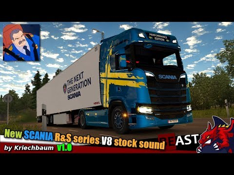 Scania New Generation V8 Stock Sound v1.0