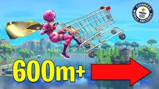 LONGEST CART JUMP in FORTNITE | Playground Mode
