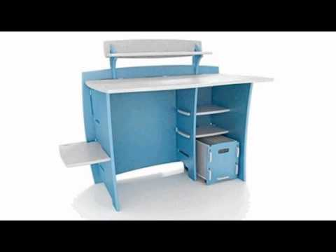 Video Select Kids 53 W Computer Desk Finish now online at YouTube