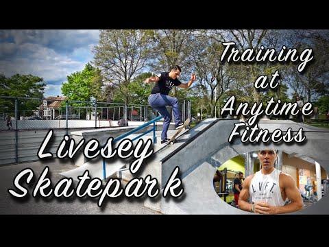 Skating at Livesey Park | Training at Anytime Fitness