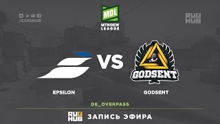 Epsilon vs Godsent - ESEA Premier Season 24 - map2 - de_overpass  [Anishared]