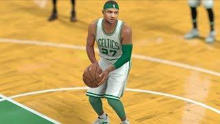 NBA 2K17 My Career - No Look Free Throw! LeBron 6 Points! CFG2! PS4 Pro 4K