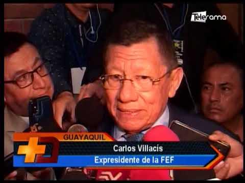 Carlos Villacís se despide de la FEF tras 21 años de dirigencia