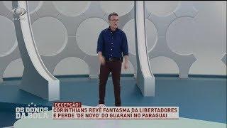 Neto imita jogadores do Corinthians na pré-Libertadores