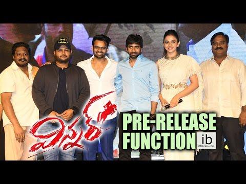 Winner Pre-Release Function