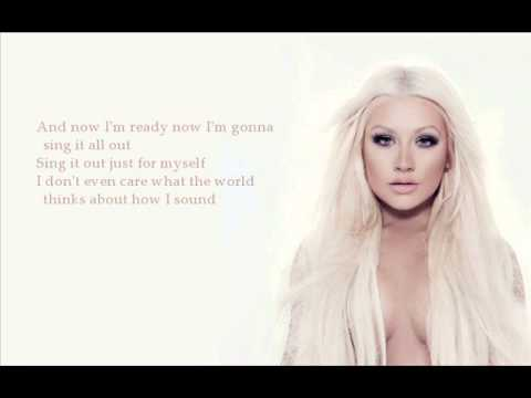 Christina Aguilera – Sing For Me (with lyrics)