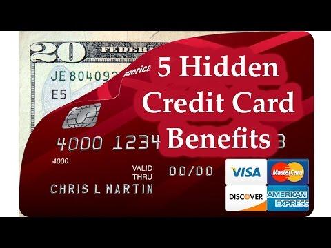 5 Hidden Credit Card Benefits | BeatTheBush