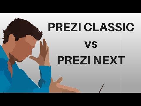 Prezi Classic vs Prezi Next