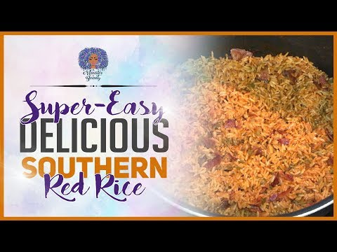 Super Easy Delicious Southern Red Rice