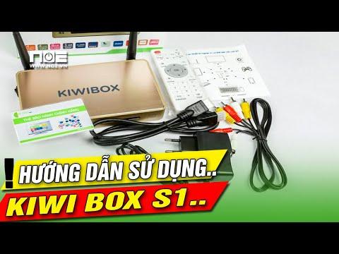 Android TV Box Kiwibox S hướng dẫn sửa dụng