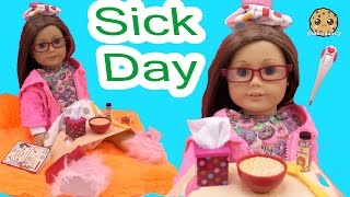 Video Sick Day - Get Well American Girl Doll with Our Generation Under the Weather Care Set MP3, 3GP, MP4, WEBM, AVI, FLV Agustus 2018