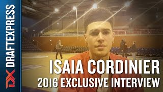Isaia Cordinier Exclusive DraftExpress Interview