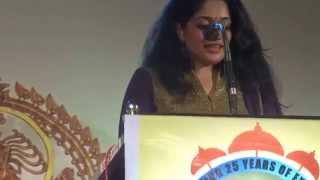 Kavya Madhavan's Speech at her homeland HD, Nileshwar 2014