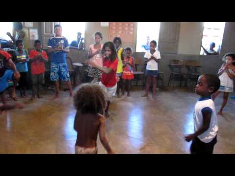 Capoeira com as crianças em São Raimundo Nonato