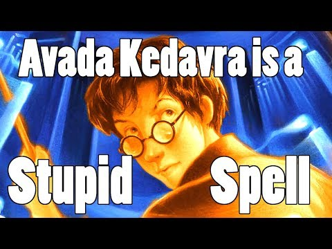 The Best Fight in Harry Potter and why Avada Kedavra is a Stupid Spell