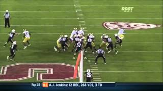 Johnathan Franklin vs Houston and Stanford (2011)