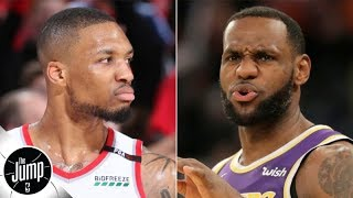 Damian Lillard says LeBron James is still the best player in the NBA: Do you agree? | The Jump