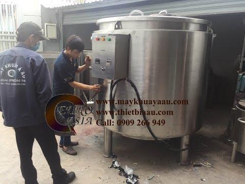 Bồn nấu gia nhiệt 2000 lít