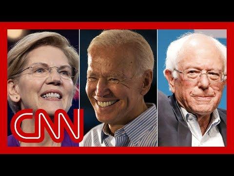Poll: Biden, Warren, Sanders leading among Dems in New Hampshire