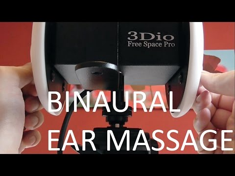 role - For the first time, using new microphones 3dio free space pro, I will massage your ears :) whisper from ear to ear, and I tap into your ears. Pure binaural sound. 3dio new microphones test.
