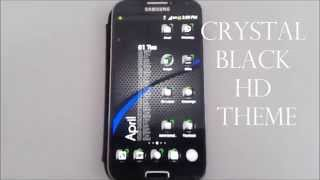 Theme Crystal Black Flat HD YouTube video