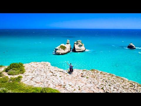 🇮🇹 ITALIA in BICI 🇮🇹 - il SALENTO come non lo avete mai visto !! Costa Adriatica (Parte 1/2) видео
