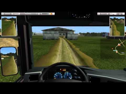 German Truck Simulator Best Russia map part8