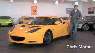 2010 Lotus Evora--Test Drive Video Review With Chris Moran From Chicago Motor Cars