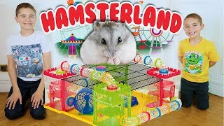Video ON CONSTRUIT HAMSTERLAND ! - PARC D'ATTRACTION POUR HAMSTER 🎡 🐹 MP3, 3GP, MP4, WEBM, AVI, FLV Juli 2017