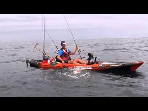 pêche en kayak mer, novembre 2014