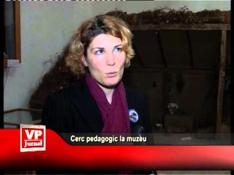 Cerc pedagogic la muzeu