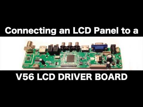 Reuse A LTN141XF LCD Panel With V56 HDMI Lcd Driver Board