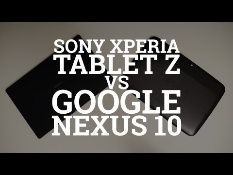 Sony Xperia Tablet Z vs Google Nexus 10