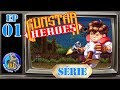 Gunstar Heroes md Parte 1 As Ru nas Antigas Rog rio