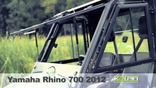 9. Yamaha Rhino 700 2012