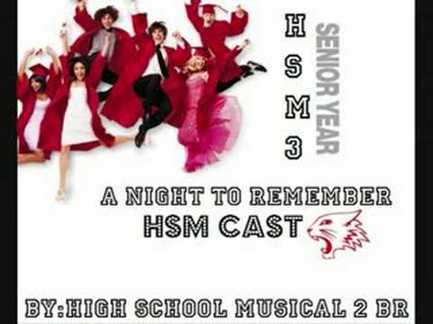 High School Musical 3 - A Night To Remember Song
