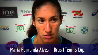 Nanda Alves vence nas duplas e vai às quartas de final em Florianópolis