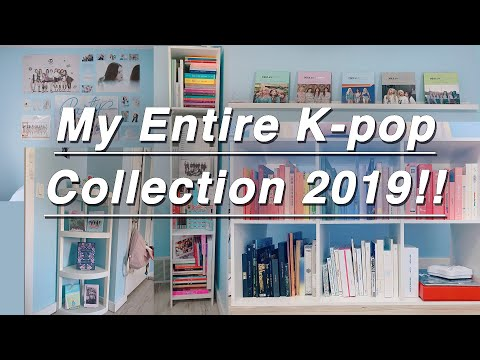 My Entire K-pop Collection 2019! [200+ Albums!!!]